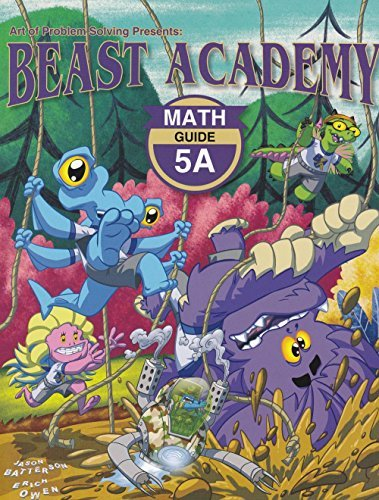 Art of Problem Solving Beast Academy 5A Guide and Practice 2-Book Set