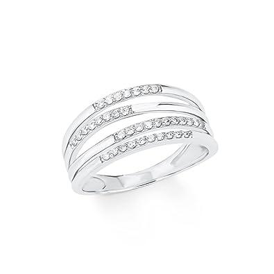 f529ac96514b s.Oliver Damen Ring 925 Sterling Silber Zirkonia weiß  Amazon.de  Schmuck