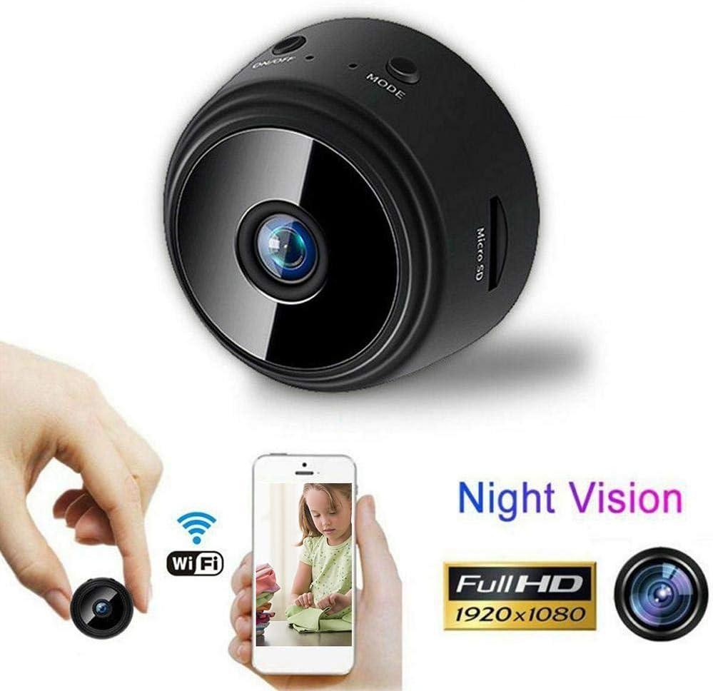 D.ragon Mini Spy Camera, 1080P HD WiFi Cámara de vigilancia ...