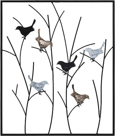 Robin Starch bird metal tin sign metal wall art office