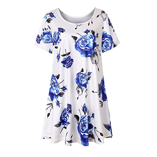 cdb92d02290e1 Handyulong Women s Fashion Shirts Short Sleeve