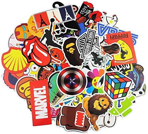 Neuleben Autocollant Lot [100-pcs] Graffiti Autocollant Stickers vinyles pour ordinateur portable, enfants, voitures, moto, vélo, Skateboard bagages, Bumper Stickers hippie autocollants Bomb étanche