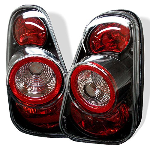 For 2002-2006 Mini Cooper Hatchback 2005-2008 Mini Cooper Convertibles Black Tail Lights Pair