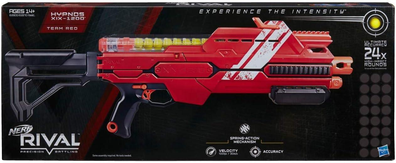NERF Rival Hypnos XIX-1200 Red ナーフライバルヒプノスXIX-1200レッド [並行輸入品]