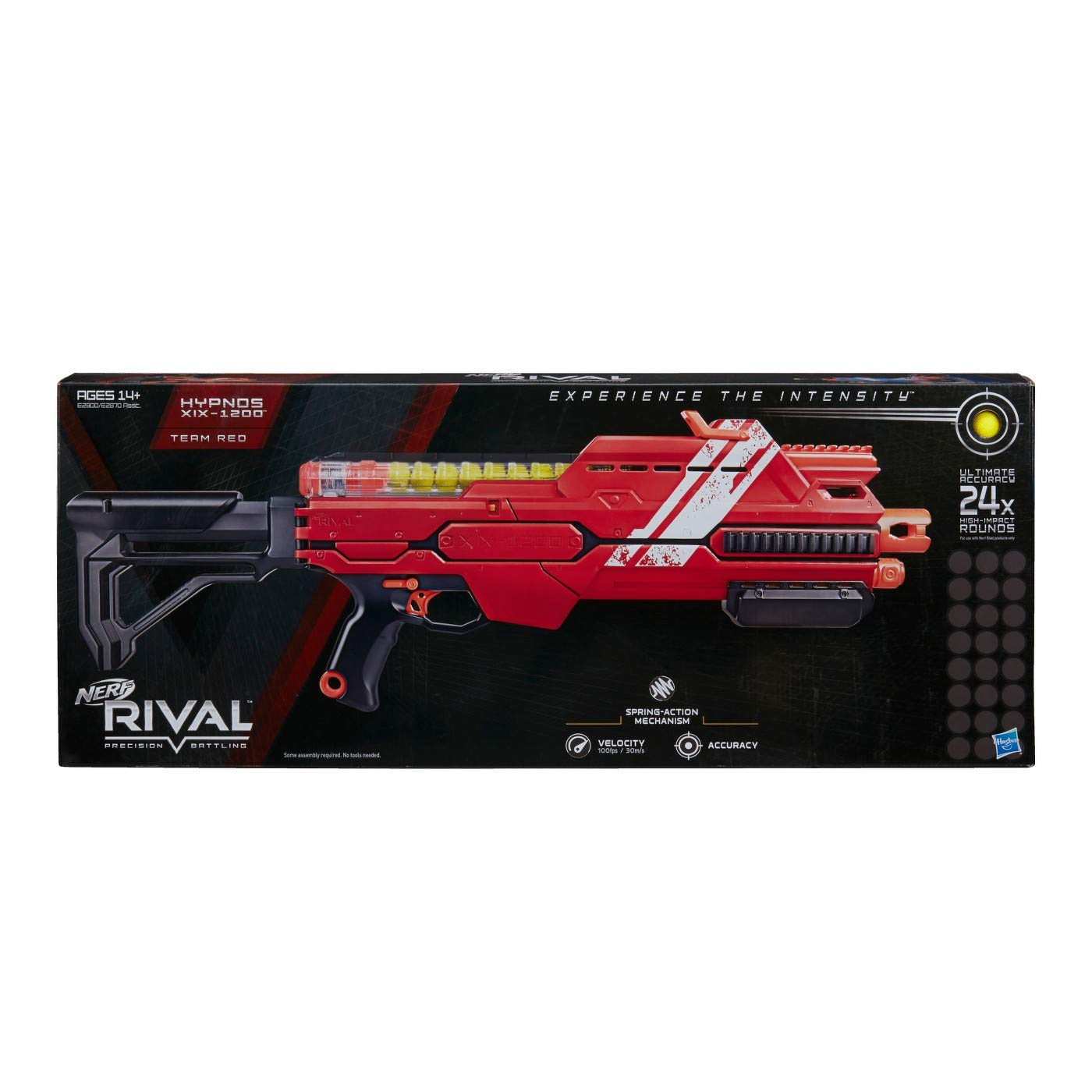 NERF Rival Hypnos XIX-1200 Red ナーフライバルヒプノスXIX-1200レッド [並行輸入品] B07MTYYXVZ