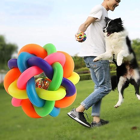 Pelota De Juguete Para Perros Mordida A Prueba Vocal Perro Grande ...