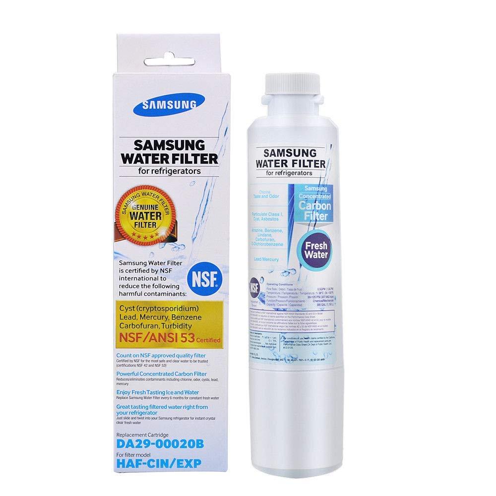 Samsung Hafcin DA29-00020B HAF-CIN/EXP Fresh Refridgerator Water Filter (1pack), 1 Pack White