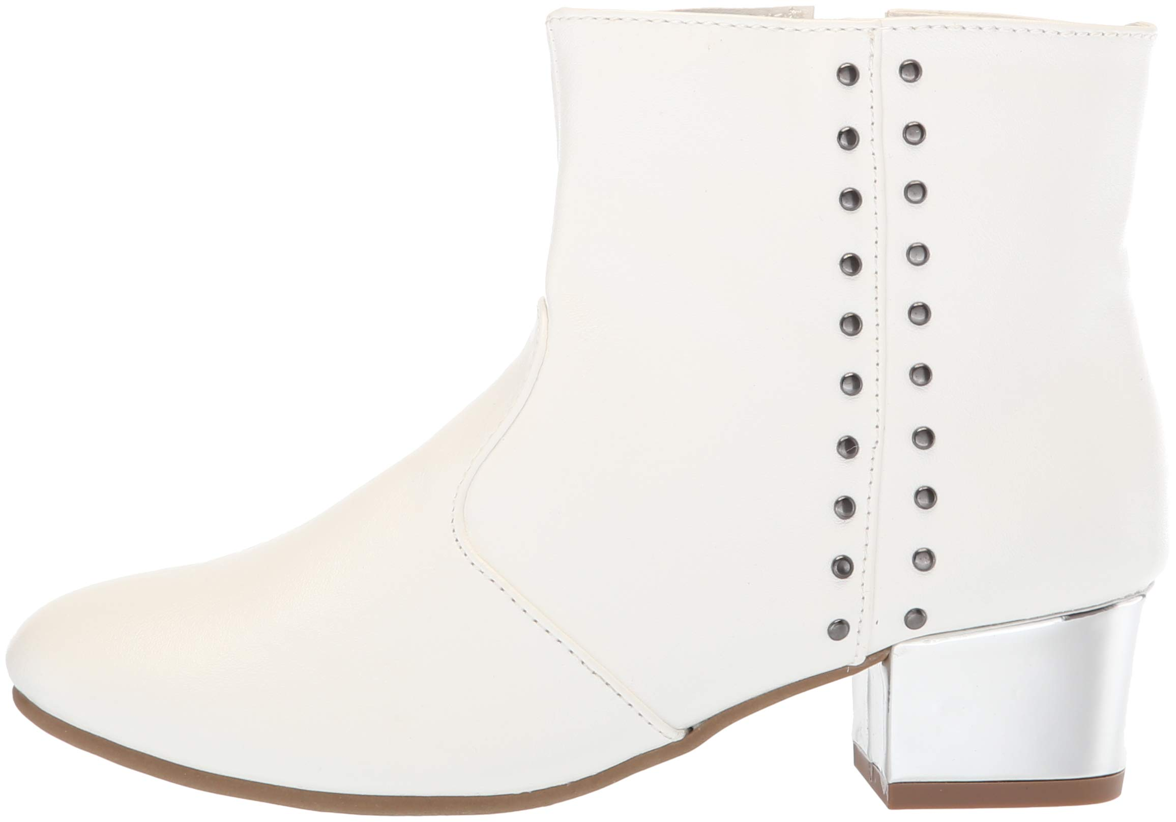The Children's Place Girls' Bootie Fashion Boot, White, Youth 3 Child US Little Kid by The Children's Place (Image #5)
