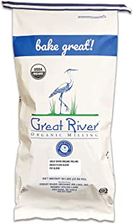 product image for Great River Organic Milling, Bread Flour Blend, Rye Blend, Stone Ground, Organic, 50-Pounds (Pack of 1)