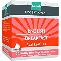 Dilmah Exceptional English Breakfast, 40 Grams