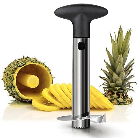 Stainless Steel Pineapple Cutter, Pineapple Peeler, Pineapple Corer,  Pineapple Slicer, Pineapple Peeling Machine, Fruit Peeling Knife, Kitchen  Gadget