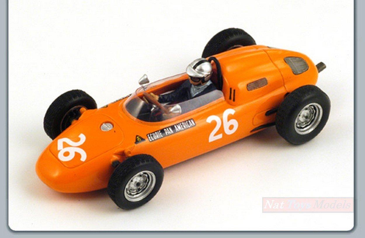 comprar mejor Spark Model S1862 Porsche G.MITTER G.MITTER G.MITTER 1963 N.26 4th German GP 1:43 Die Cast Model  moda clasica