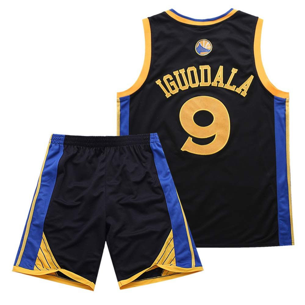 best service baa44 32c68 Amazon.com: Summer Basketball Suit t-Shirt Suit Warrior 9 ...