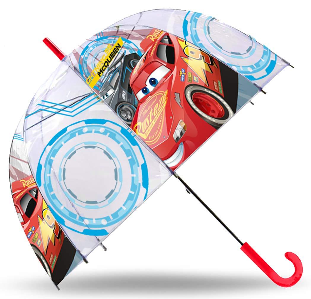 Sencillo paraguas de Cars.