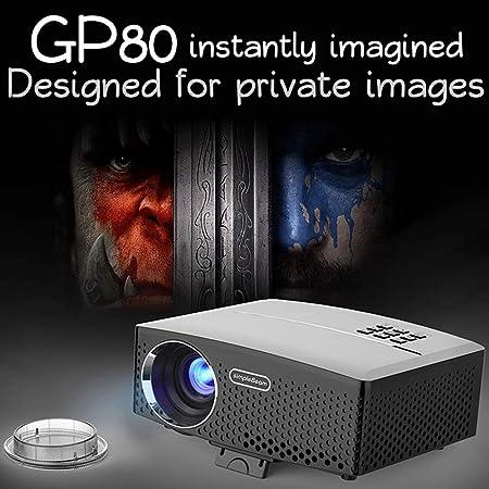 XH Proyector Imagen Multimedia Video Proyección HD Portátil ...