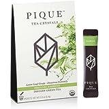 Pique - Cold Brew Instant Tea - Organic Jasmine Green Tea - Antioxidants, Calm Energy, Sugar-Free - 14 Stick Packs