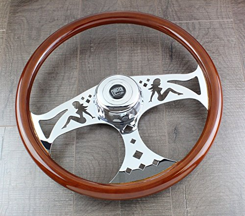 New World Motoring Steering Wheel & Hub Kit: 18