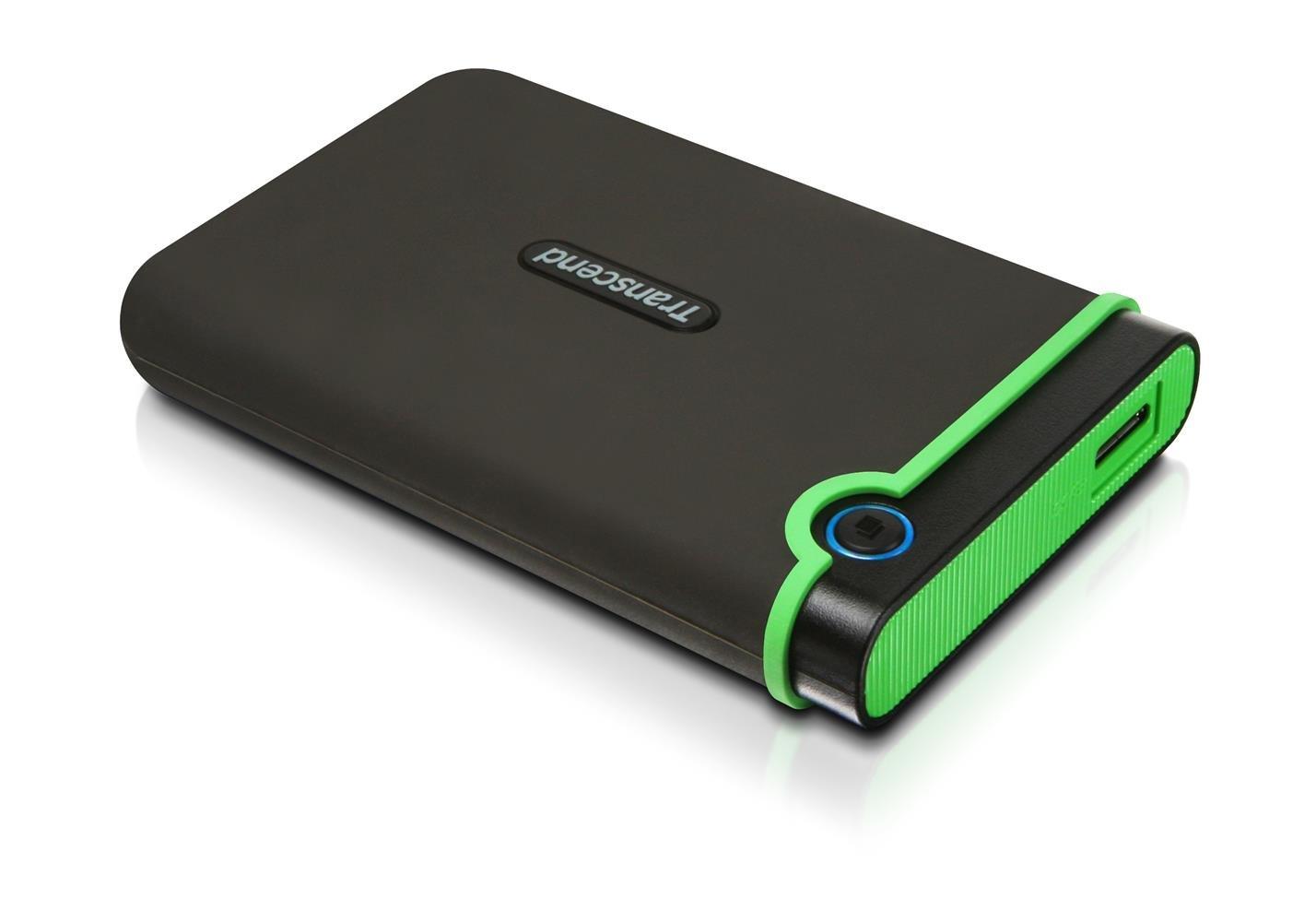 Amazon.com: Transcend 1 TB StoreJet M3 Military Drop Tested USB 3.0  External Hard Drive: Computers & Accessories