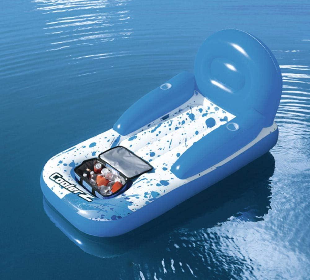 Svvsgf Juguetes inflables de la Piscina, Original auténtico Ocean Paradise sillón de Agua Fila Flotante Cama Flotante Resto Flotante Fila de Agua natación