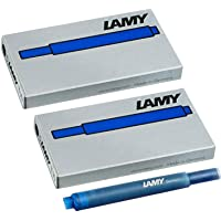 Lamy 1220536T 10Ink Cartridges–Blue (Pack of 10)
