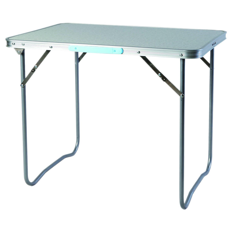 Pratico XL alluminio tavolo da campeggio pieghevole Tavolo da giardino Camping mittragegriff viaggio tavolo L70x B50x H59cm Mojawo ®