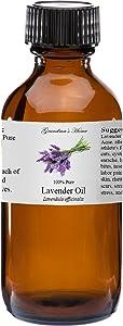 Lavender Essential Oil 100% Pure Therapeutic Grade Essential Oil - 2 fl oz - Grandma's Home