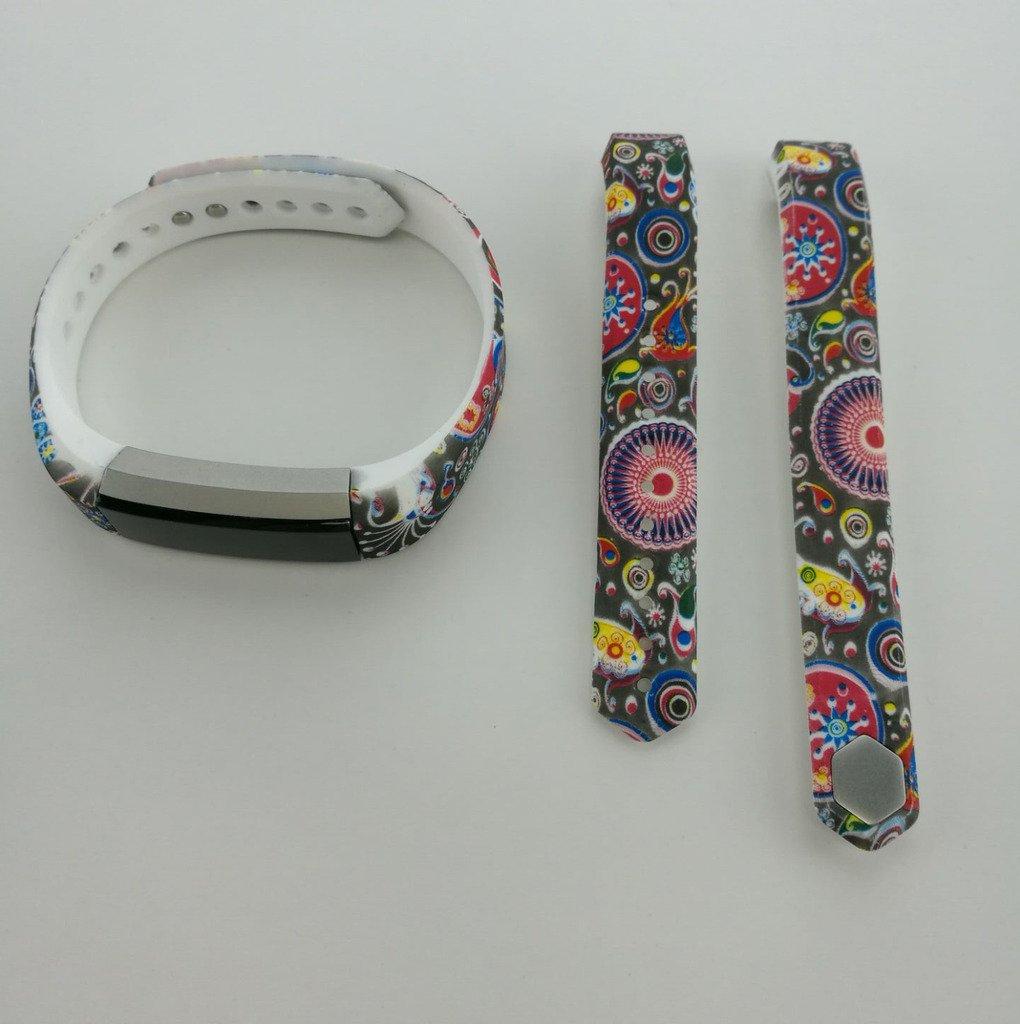 For Fitbit ALTAシリコンバンド、LinkShare multi-patterns調節可能クラシックスマートリストバンド手首交換バンドFitbit ALTA Largeサイズ B074TFHW75 パターン9 パターン9