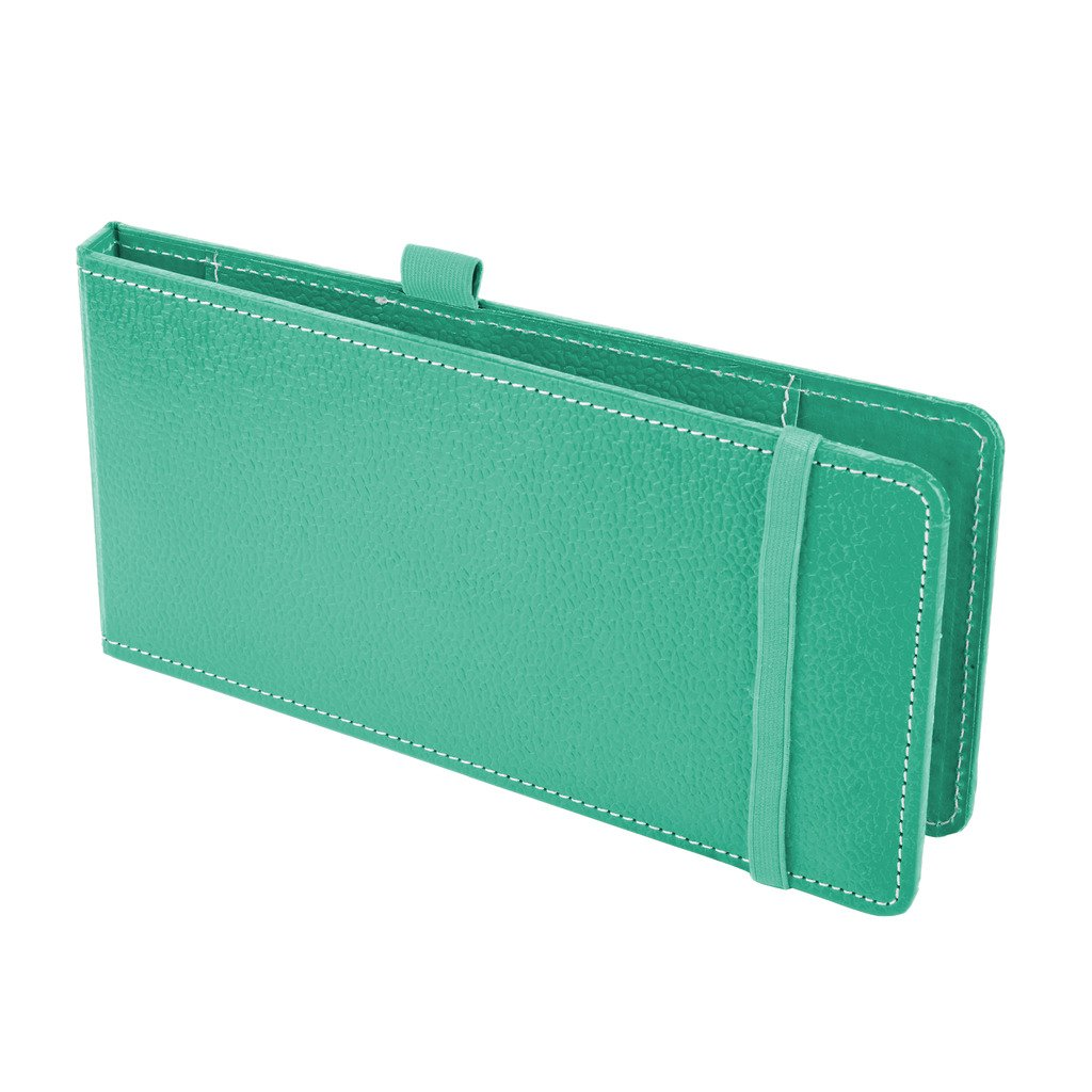 Case Card Holder Eco Friendly Eco leatherette Cheque Book Holder-Cheque Book