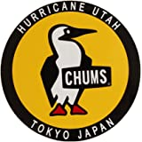 (チャムス) CHUMS ステッカー ラウンドブービーバード CH62-0156 イエロー×ブラック:00