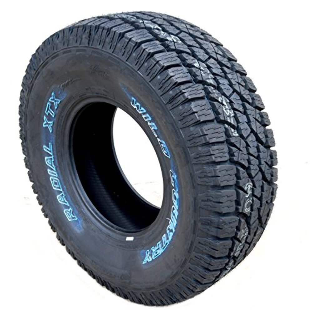 LT 285/75/16 Wild Country XTX Sport A/T Tire Load E