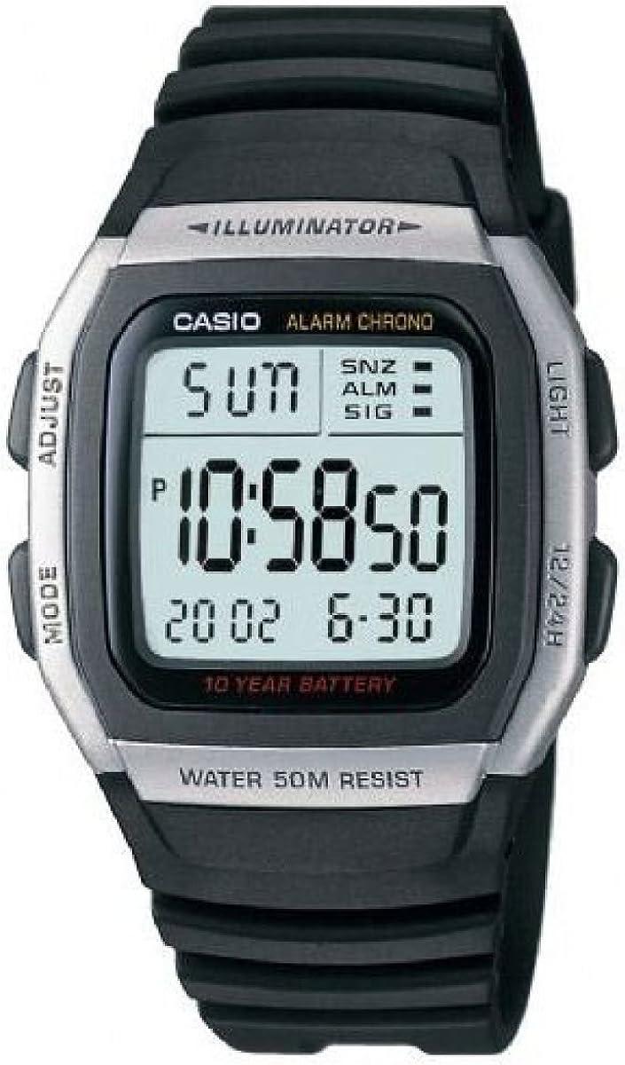 Casio Reloj para Hombre W-96H-1AVES