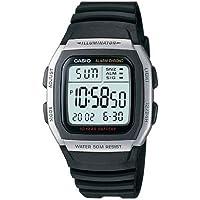 Casio Reloj Digital para Hombre de Cuarzo con Correa en Plástico W-96H-1AVES