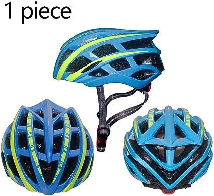 GZXGXY Casco para Bicicleta para Niños, Casco para Adultos, Casco para Bicicleta De Montaña, Casco para Montar Al Aire Libre para Niños, Equipo De Protección Deportiva para Hombres,Bluegreen: Amazon.es: Deportes y aire