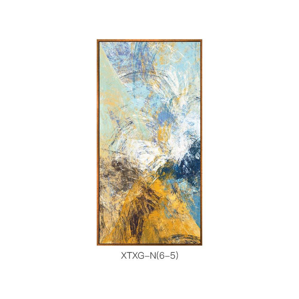 DEE Decoración de la Pared - Pintura Decorativa Vertical Abstracta, Estilo Creativo con la Pintura del Marco, Pintura del Mosaico del Pasillo del Hotel,A,60  120