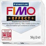 Staedtler Pâte Fimo Effet translucide (014) Effet Pâte Fimo polymère argile modelage moulé Bloc four Bake couleur 56g (Lot de 1)