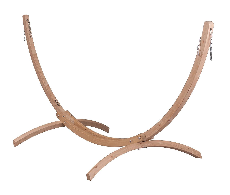 LA SIESTA(ラ シエスタ) ダブルハンモック用スタンド (木製)  CANOA B00FF3P4N0