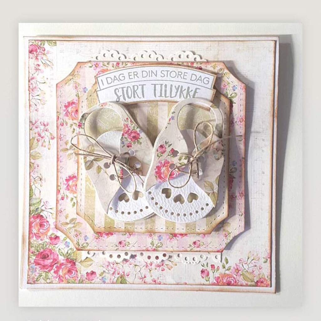 Kunst Papier Karten Pr/ägeschablone F/ür Scrapbooking Dekoration WuLi77 Sandalen Metall Stanzschablone Die Stanzen Zum Basteln Von Karten DIY Album