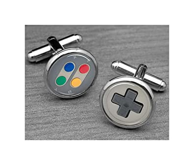 Amazon Game Console Cufflinks Button Play Video Games
