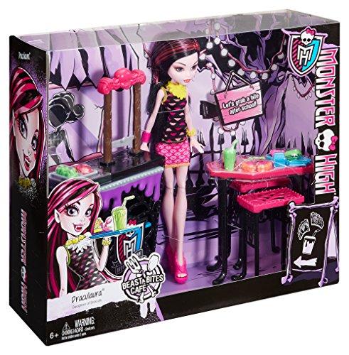 monster high beast bites cafe draculaura doll playset monster high dolls. Black Bedroom Furniture Sets. Home Design Ideas