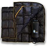 PUFFER WOLF | Extra Large Double Insulated Outdoor Camping Blanket | 2X Puffy, Warm, Packable, Weatherproof, Durable, and Lig