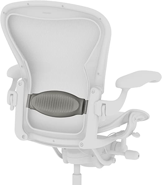 NEW Herman Miller Aeron Chair Lumbar Low Back Support Pad Graphite Size A B or C
