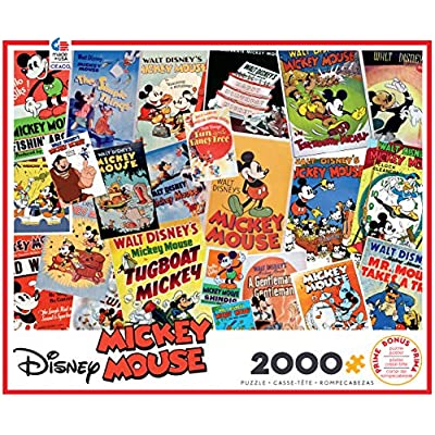 Ceaco Disney Mickey Mouse Jigsaw Puzzle, 2000 Pieces: Toys & Games