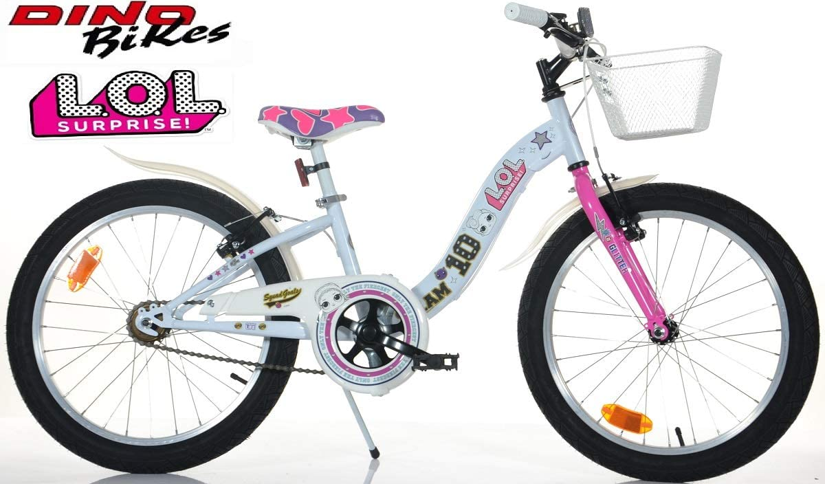 Bicicleta Dino Bikes NIÑA 20 LOL Surprise Art. 204 R-LOL: Amazon ...