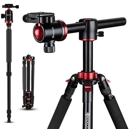 GEEKOTO - Trípode para cámara réflex Digital (77 Pulgadas, trípode ...