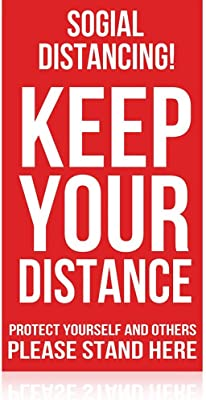 Social Distancing! Keep Your Distance