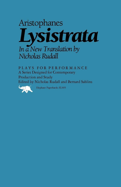 Lysistrata (Plays for Performance Series): Amazon.es ...
