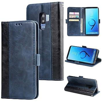Happy-L Funda Samsung Galaxy S9 Plus, 2 Colores Retro ...