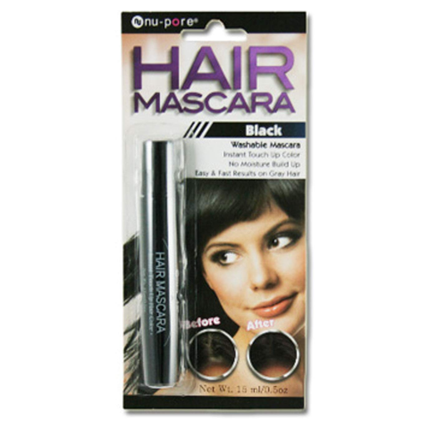 (Pack of 36) NuPore Hair Mascara Black