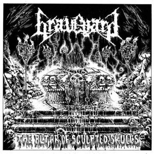 Graveyard (Spain): The Altar of Sculpted Skulls (Audio CD)