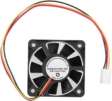 Broadroot Ventilador PC 3 Pin CPU 5cm Enfriador Ventilador ...